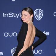 Miranda Kerr : Golden Globe de la robe la plus sexy