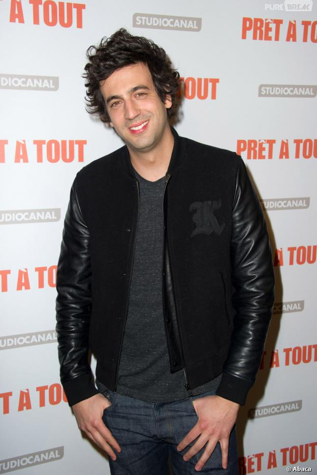 Max Boublil à l'avant-première de Prêt à tout, le 13 janvier 2014 à Paris