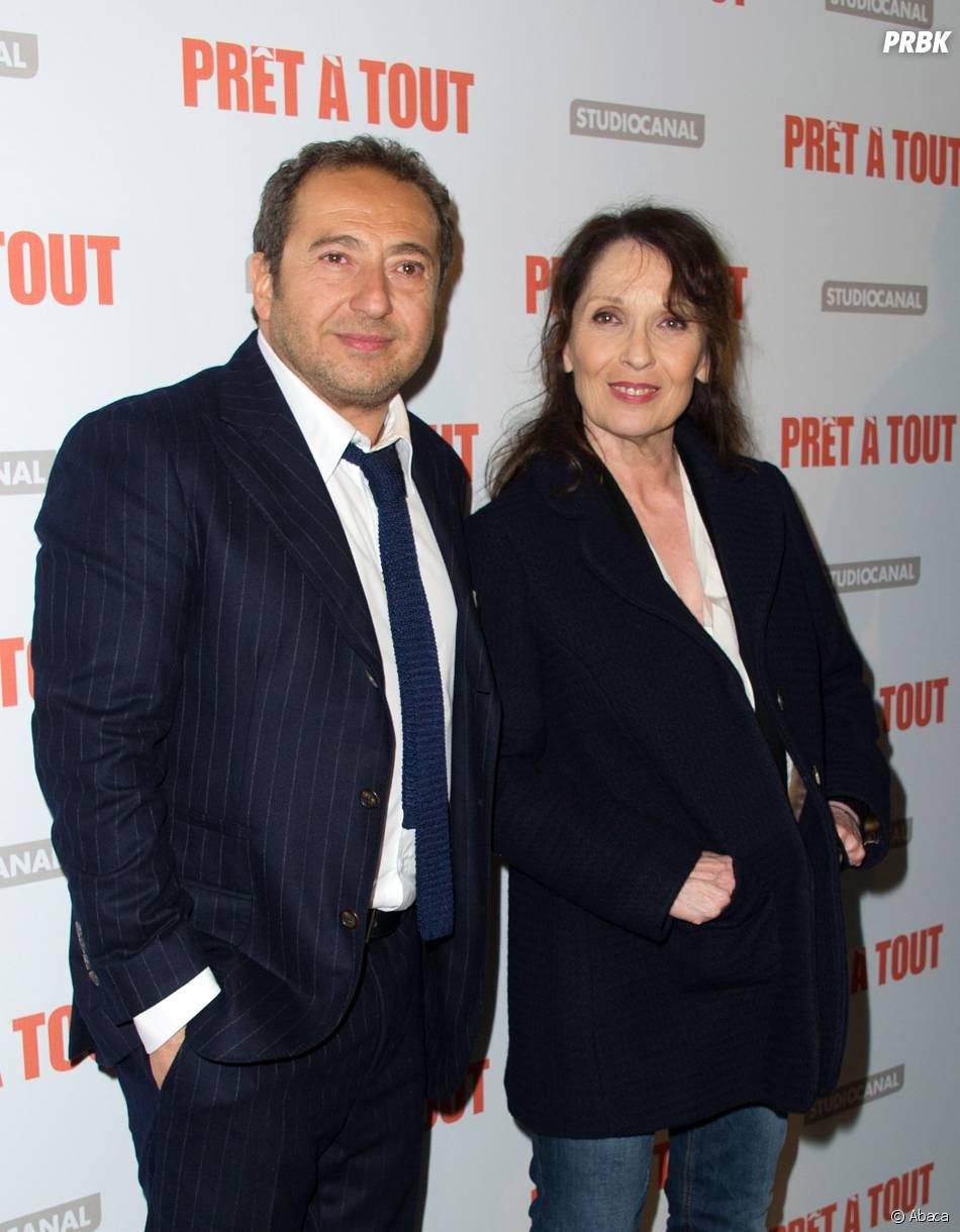 Chantal Lauby et Patrick Timsità l'avant-première de Prêt à tout, le 13 janvier 2014 à Paris