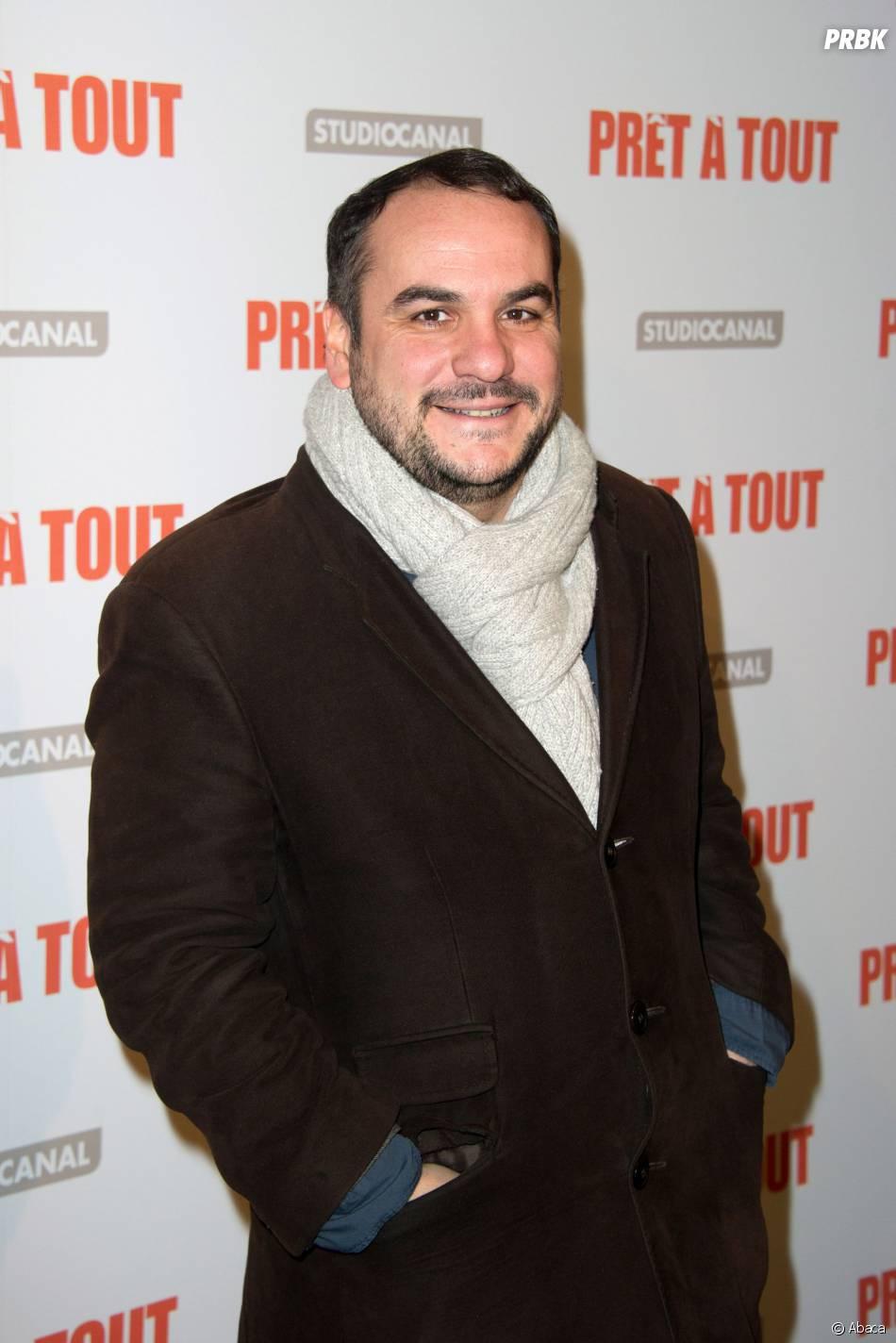 François Xavier-Demaisonà l'avant-première de Prêt à tout, le 13 janvier 2014 à Paris