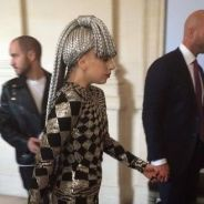 Lady Gaga : visite du Louvre déguisée en arlequin