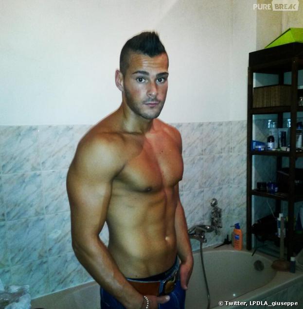 Les Princes de l'amour : Giuseppe est sexy torse nu
