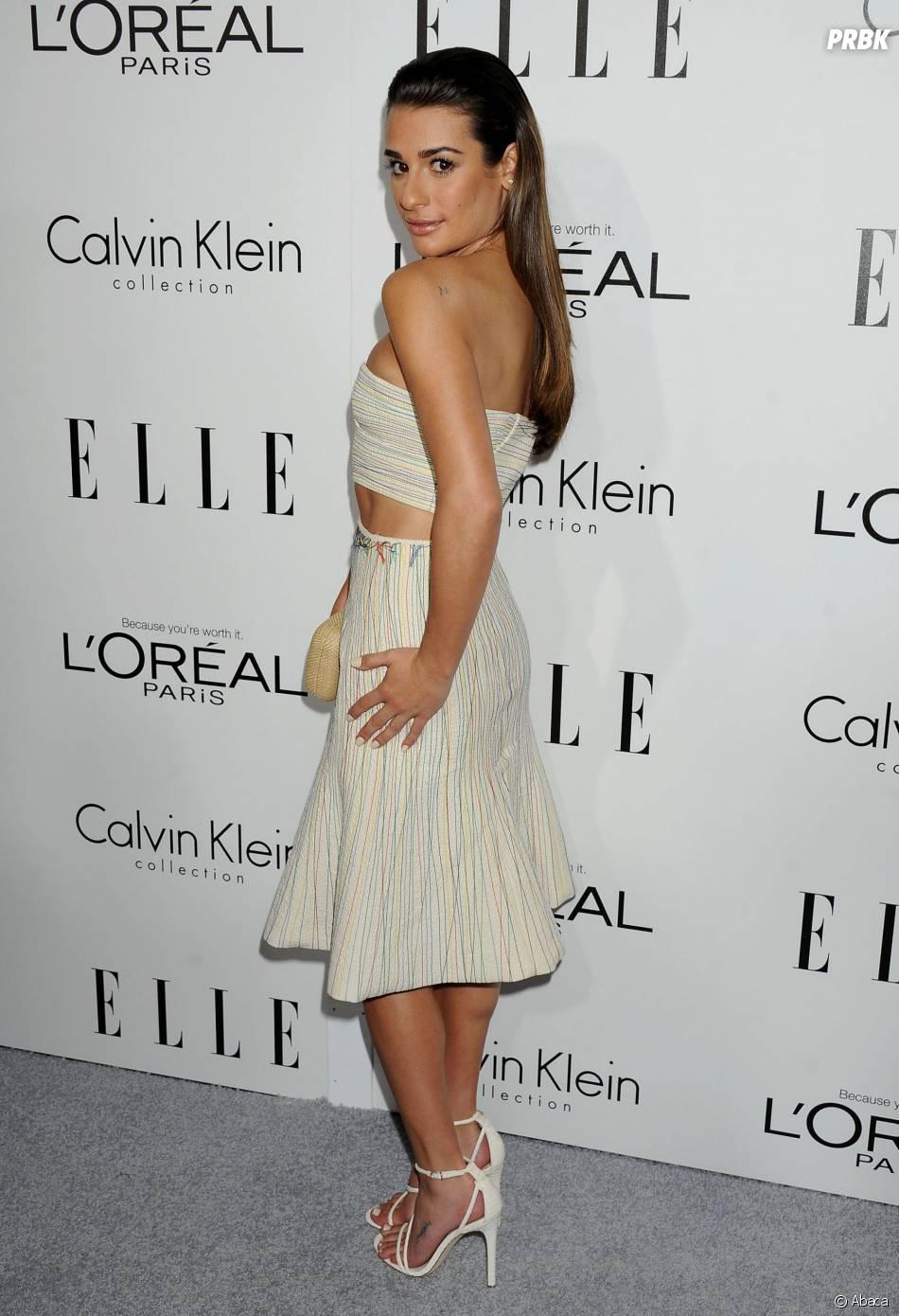 Lea Michele à la soirée Elle Women in Hollywood, à Los Angeles le 21 octobre 2013