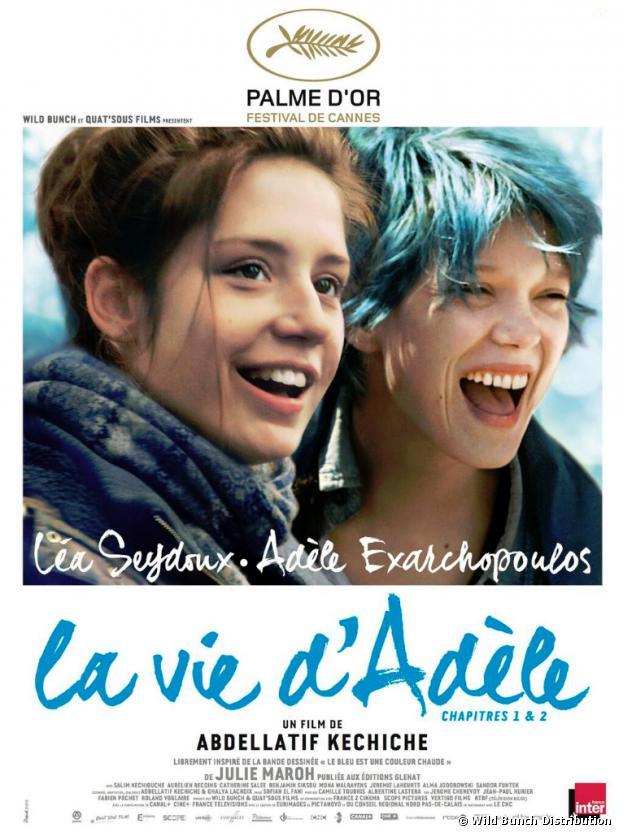 César 2014 : La vie d'Adèle parmi les nommés