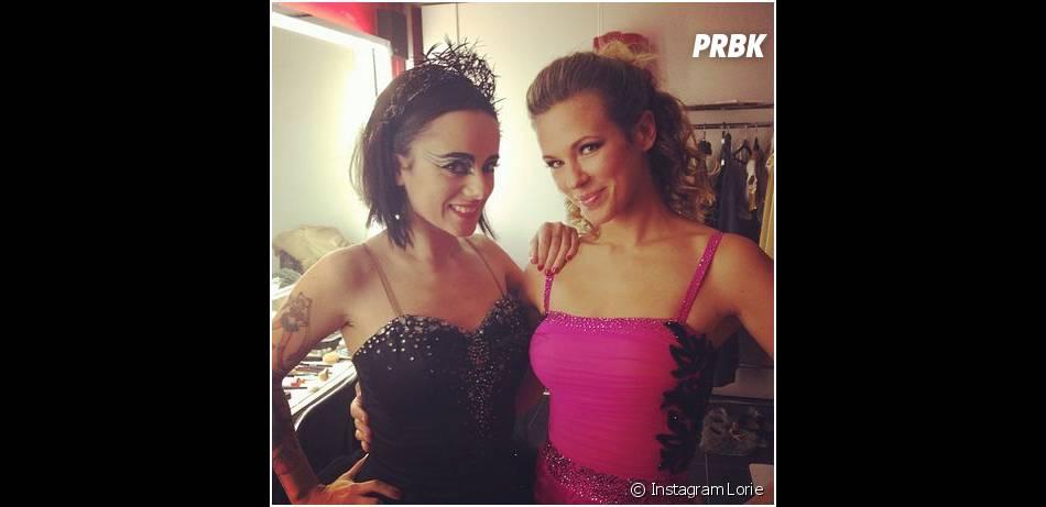 Lorie et Alizée dans les coulisses de la tournée Danse avec les stars