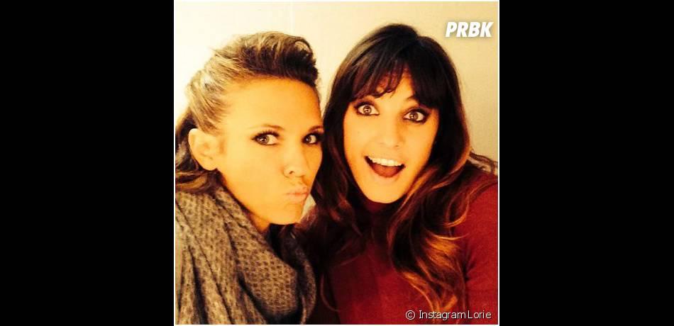 Lorie et Laetitia Milot : selfie entre filles dans les coulisses de la tournée DALS
