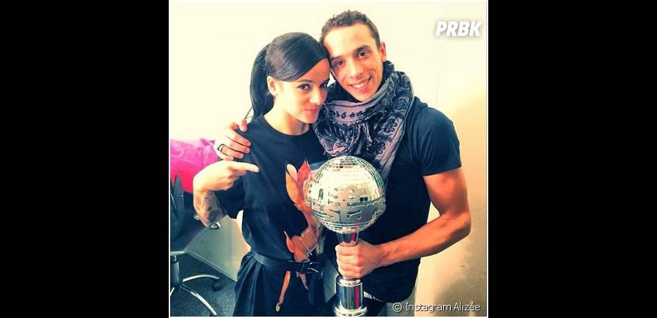 Alizée et Grégoire Lyonnet : couple gagnant de la tournée de Danse avec les stars