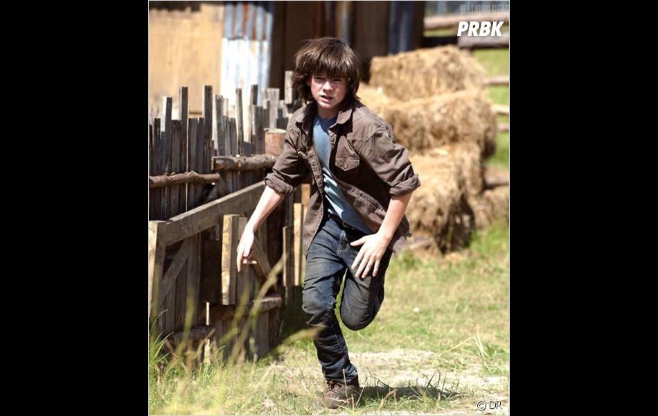 The Walking Dead saison 4 : Chandler Riggs surprendra les téléspectateurs