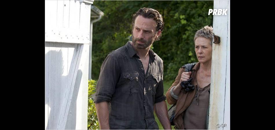 The Walking Dead saison 4 : Rick va avoir peur pour Carl