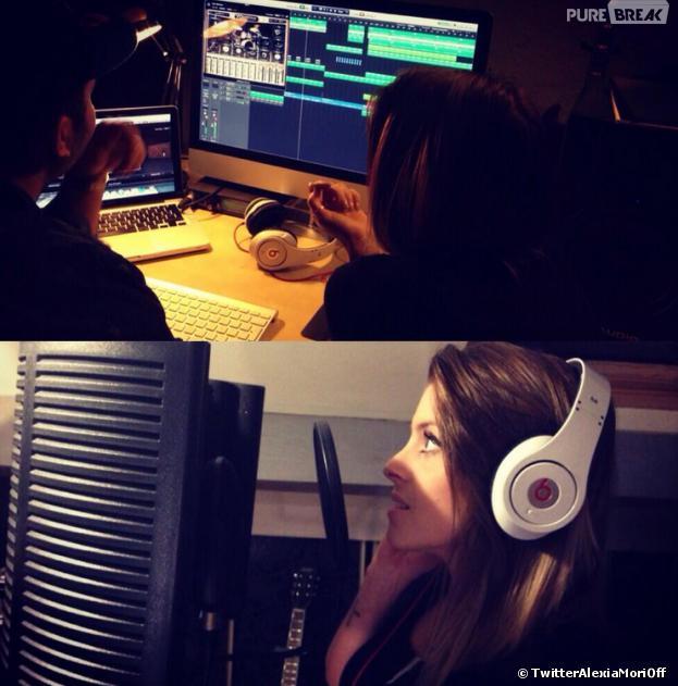 Secret Story 7 : Alexia bientôt chanteuse ?