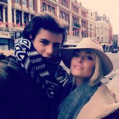 Caroline Receveur : bague, shopping et câlin à Londres avec son Valentin
