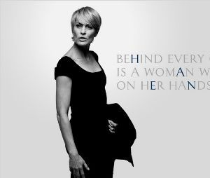 House of Cards : Robin Wright est Claire Underwood