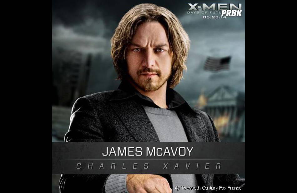 X-Men Days of Future Past : James McAvoy sur une affiche