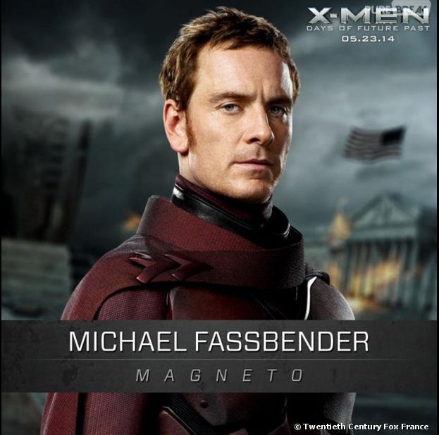 X-Men Days of Future Past : Michael Fassbender sur une affiche