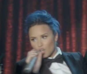 Demi Lovato dans la bande-annonce de Trio, l'épisode 10 de la saison 5 de Glee