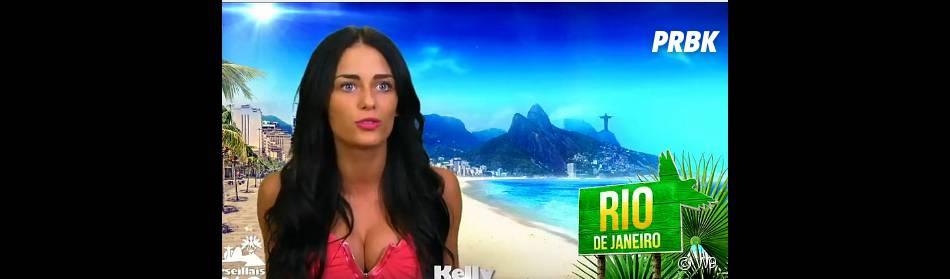 Les Marseillais à Rio : Kelly surprise par l'accueil de Stéphanie