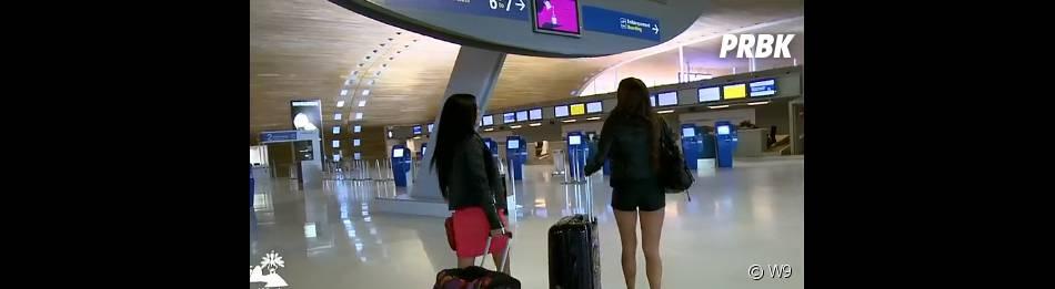 Les Marseillais à Rio : Kelly et Stéphanie se retrouvent à l'aéroport