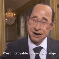 Pharrell Williams : Happy parodié par François Hollande dans les Guignols