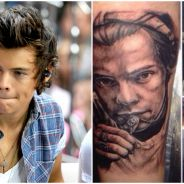 Harry Styles : même pas ivre, elle se tatoue le visage du chanteur