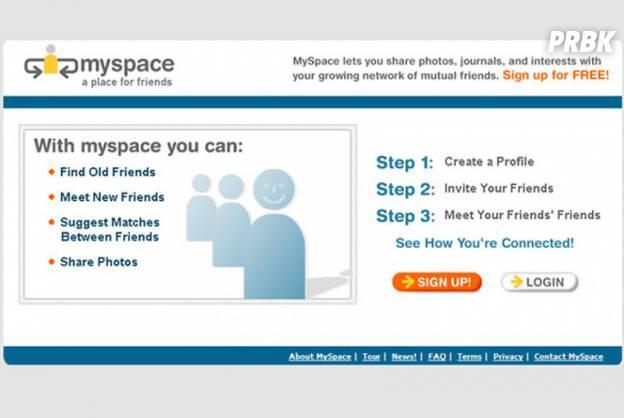 Myspace screenshot