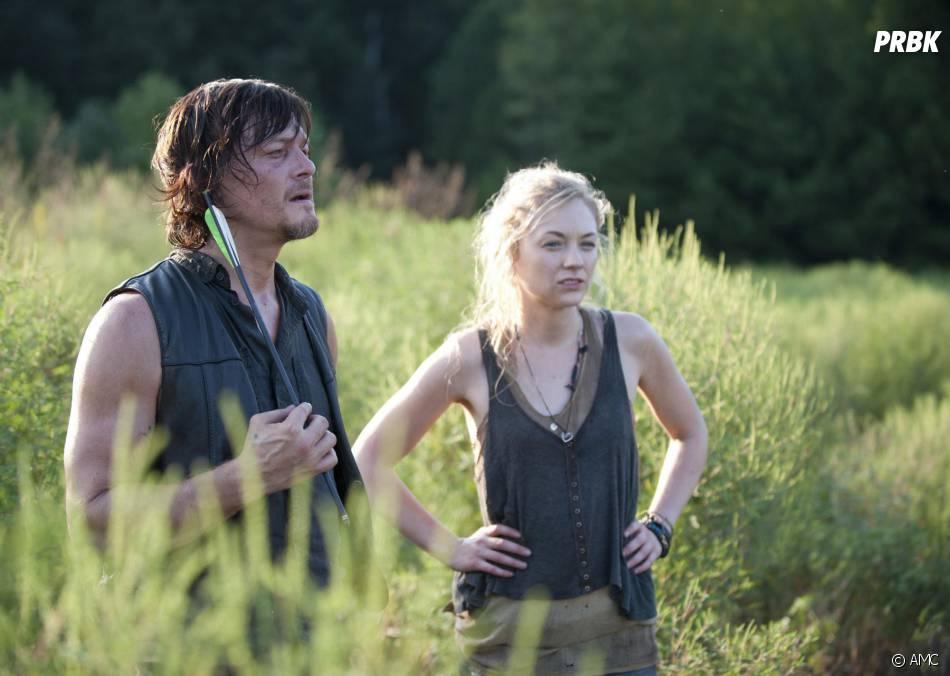 Walking Dead saison 4 : Daryl et Beth sur une photo