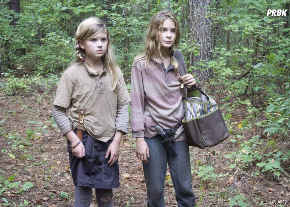 Walking Dead saison 4 : Mika et Lizzie en danger ?