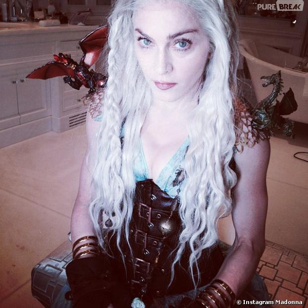 Game of Thrones : Madonna se prend pour Daenerys de Game of Thrones