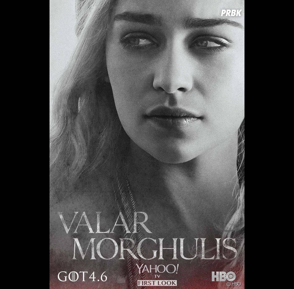 Game of Thrones saison 4 : Daenerys sur l'une des affiches officielles