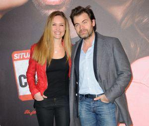 Clovis Cornillac et Lilou Fogli à l'avant-première de Situation amoureuse : c'est compliqué, le 17 mars 2014 à Paris
