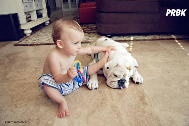 Lola et Harper bébé