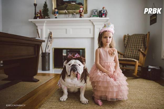 Lola et Harper princesses