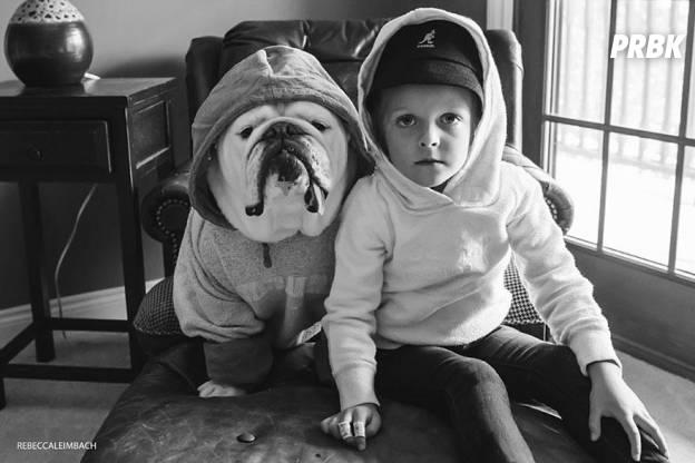 Lola et Harper capuche
