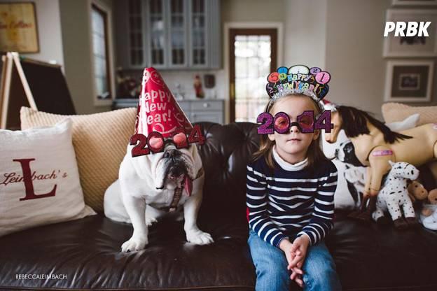 Lola et Harper nouvel an