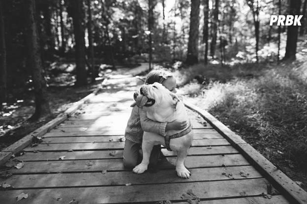 Lola et Harper en forêt