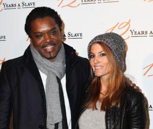Anthony Kavanagh avec sa femme à l'avant-première du film 12 Years of Slave, le 11 décembre 2013
