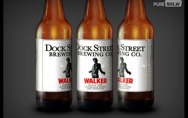 Une bière inspirée des zombies de The Walking Dead