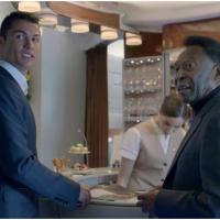 Cristiano Ronaldo : sa pub pleine d'autodérision avec le Roi Pelé