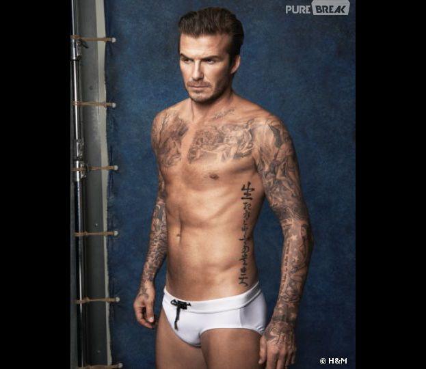 David Beckham encore à moitié nu pour H&M : une collection de maillots de bain dévoilée