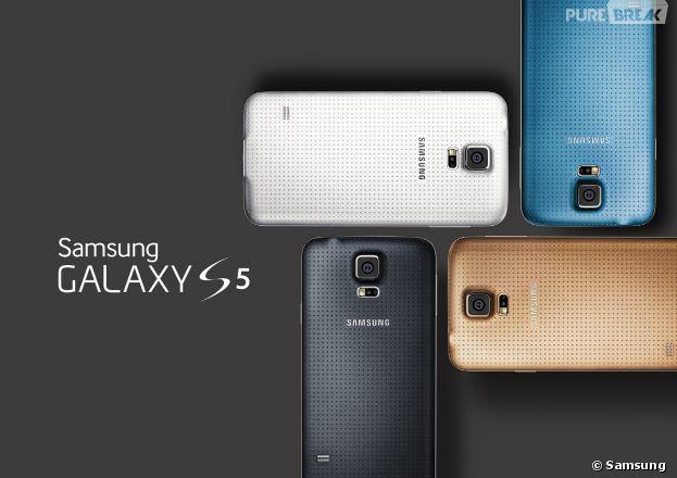 Samsung : le Galaxy S5 est disponible dès maintenant