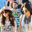 Selena Gomez et Kendall Jenner au festival de musique de Coachella 2014, le 11 avril