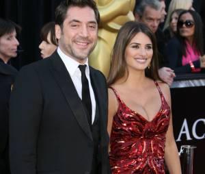 Penélope Cruz et son mari Javier Bardem aux Oscars