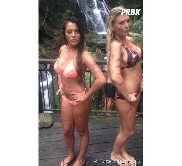 Les Anges 6 : Amélie Neten et Anaïs Camizuli en mode spa dans la jungle