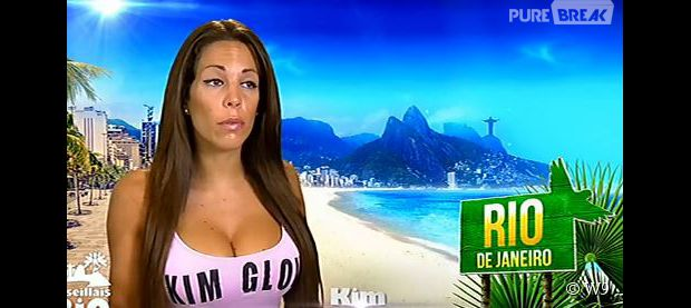 Les Marseillais à Rio : séquence culte lorsque Kim est persuadée qu'il existe deux lunes