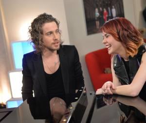 Julien Doré et la chanteuse de Nouvelle Star, Sophie-Tith