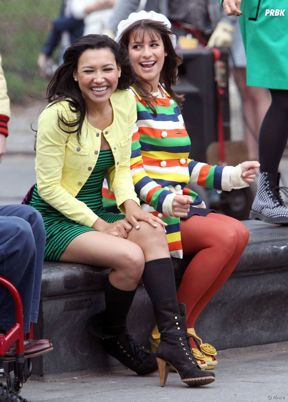 Glee : des tensions entre Lea Michele et Naya Rivera ?