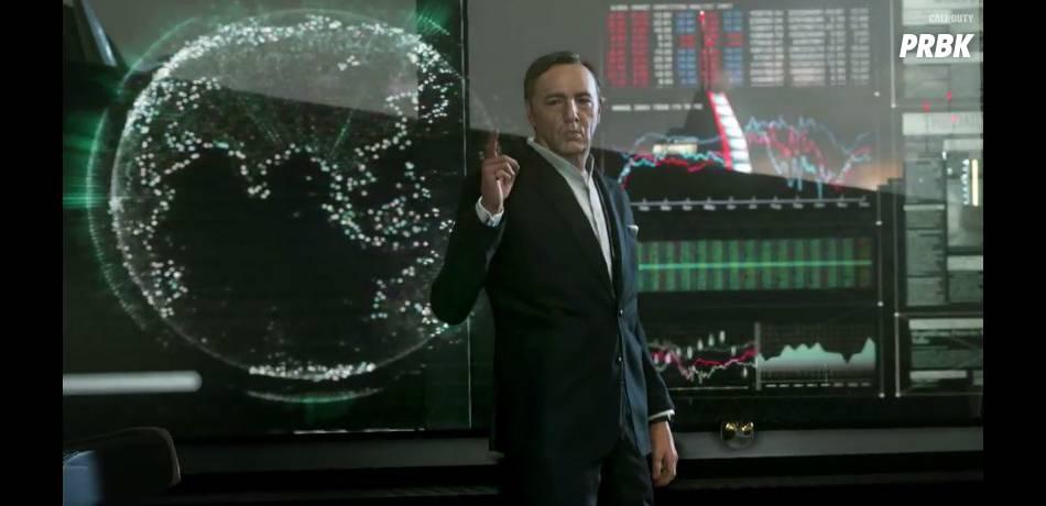 Call of Duty Advanced Warfare : Kevin Spacey se prête au jeu