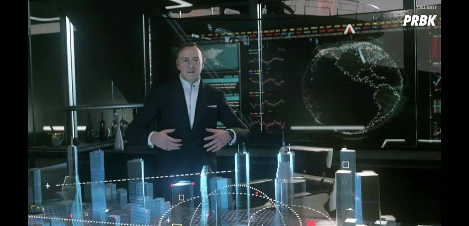Call of Duty Advanced Warfare : Kevin Spacey méchant du dernier opus
