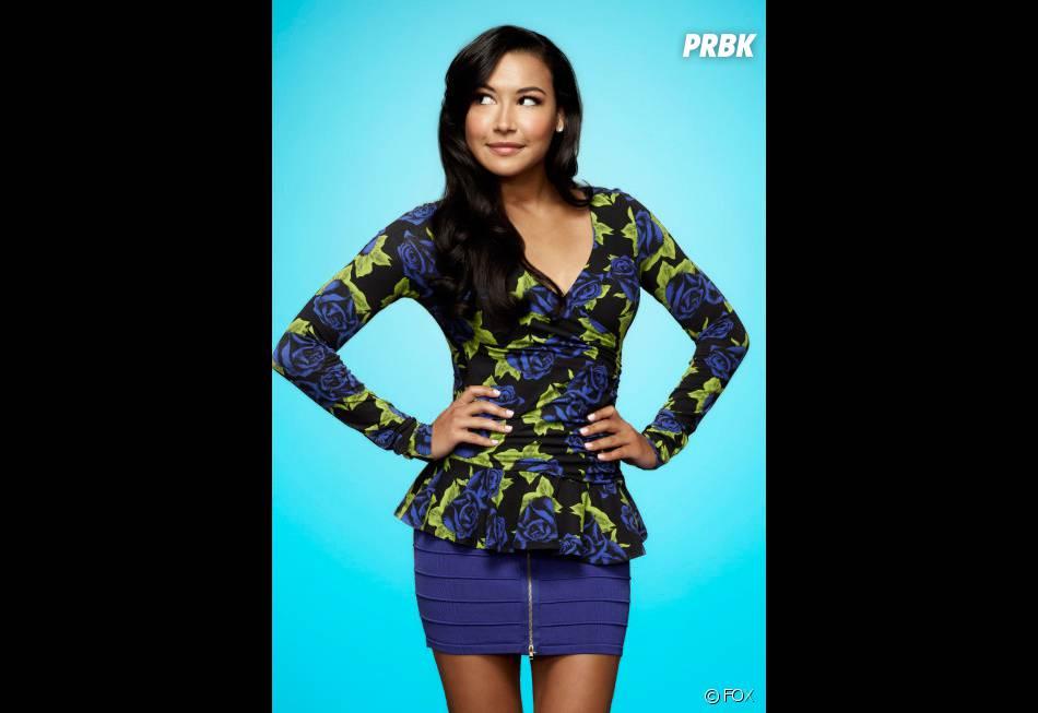Glee saison 5 : FOX dément le départ de Naya Rivera, aka Santana