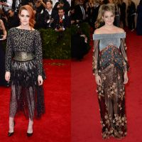 Kristen Stewart VS Shailene Woodley : match de looks ratés au Met Gala 2014