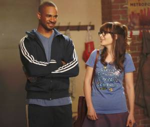New Girl saison 3 : Damon Wayans Jr et Zooey Deschanel